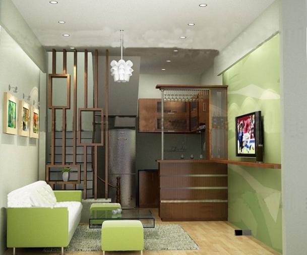 Thiết kế nhà cấp 4 đẹp có gác lửng với diện tích 20m2