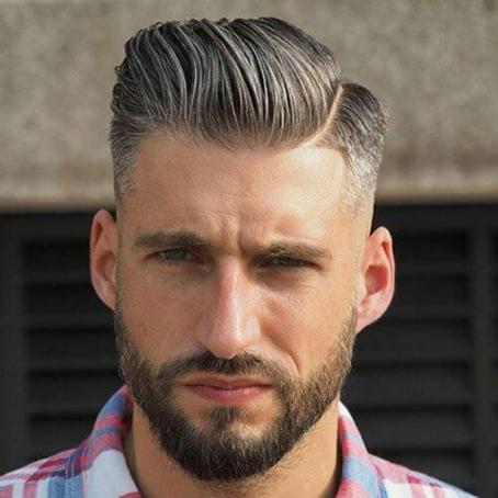 Tóc nam ngắn cho mặt dài