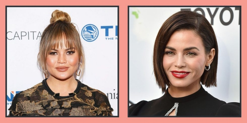 Hairstyles for round faces and fine hair short
