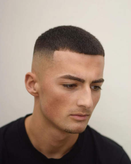 Cool Men's Buzz Cut Fade Styles