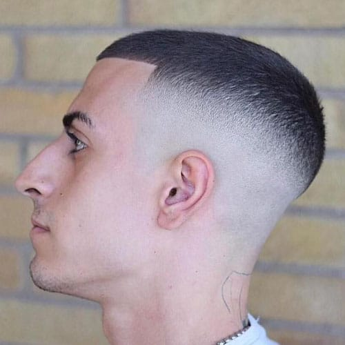 Modern high and tight fade haircut