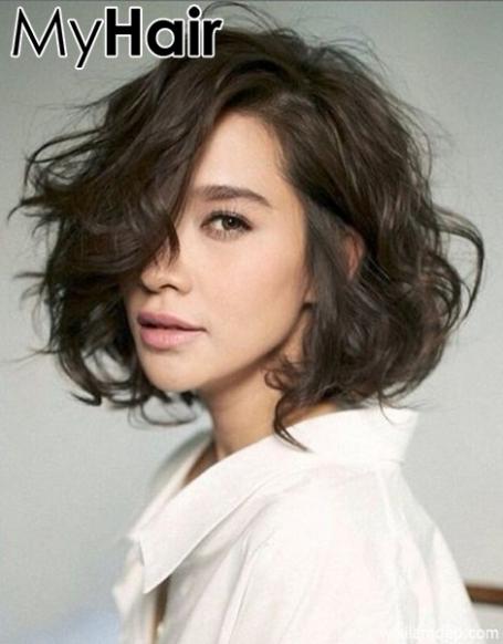Kiểu tóc bob xoăn retro đẹp dành cho nữ