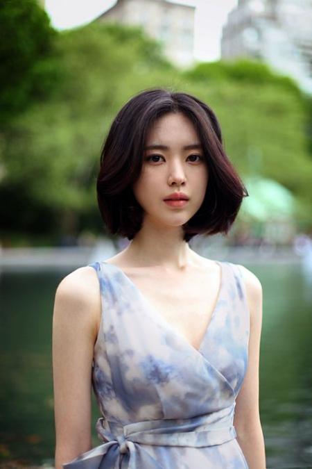 Xu hướng mẫu tóc ngắn đẹp như sao Hàn - Hình 15