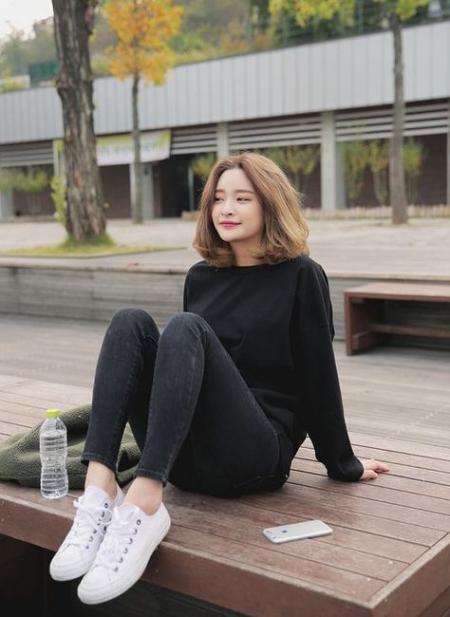 Xu hướng mẫu tóc ngắn đẹp như sao Hàn - Hình 7