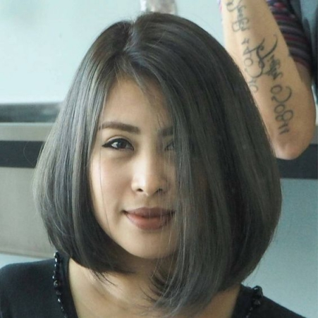 Kiểu tóc ngắn uốn cúp đẹp