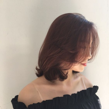 Kiểu tóc ngang vai Xoăn Nhẹ đẹp nhất