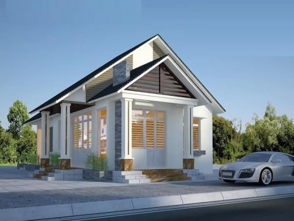 Thiết kế  nhà cấp 4 đẹp xây dựng chỉ với  400 triệu