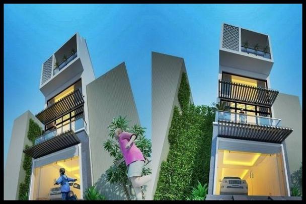 Thiết kế nhà ống 4 tầng mặt tiền 5m