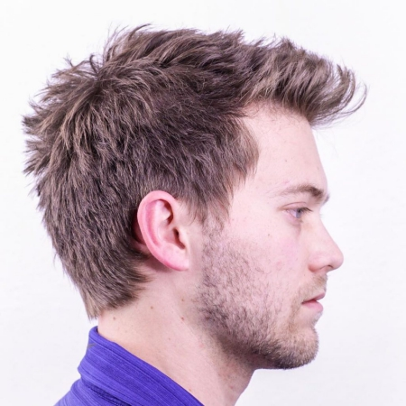 Messy hairstyles for males