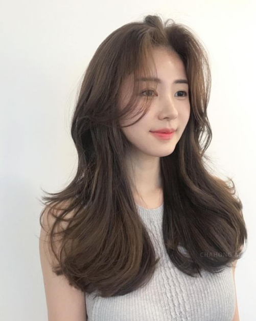 Tóc màu nâu tây trầm lạnh đẹp 2019
