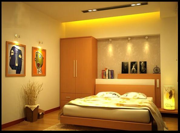 Thiết kế nội thất phòng ngủ mẫu biệt thự 3 tầng