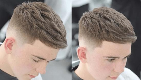 Kiểu tóc nam mohican ngắn