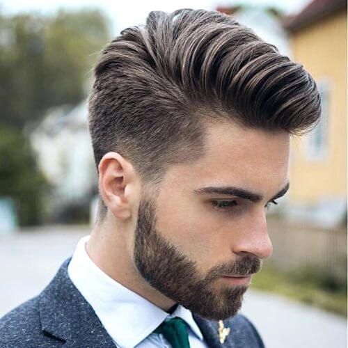 kiểu tóc nam undercut pompadour
