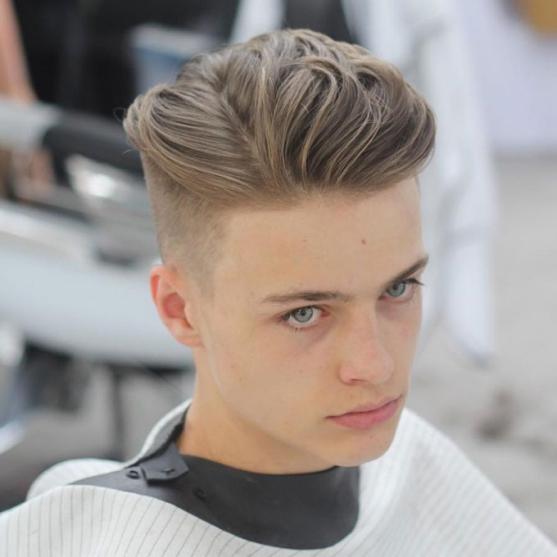 cắt tóc nam kiểu side part