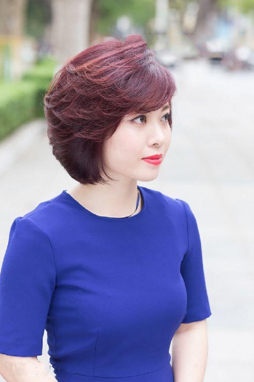 Xu hướng tóc ngắn cho tuổi 45 đẹp nhất hiện nay