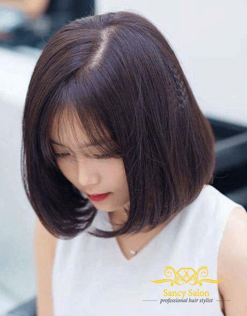 Xu hướng tóc ngắn ép cụp đẹp nhất hiện nay