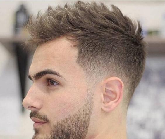 Thời trang những kiểu tóc nam đẹp nhất - Mẫu 1