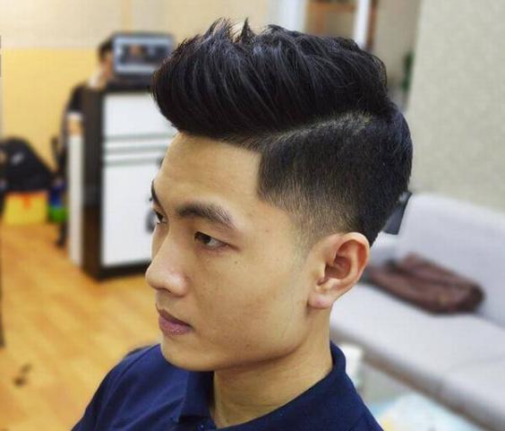 Thời trang những kiểu tóc nam đẹp nhất - Mẫu 12
