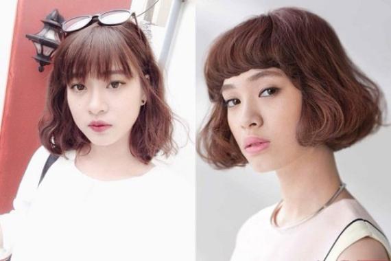 Những kiểu tóc nữ đẹp nhất - Mẫu 10