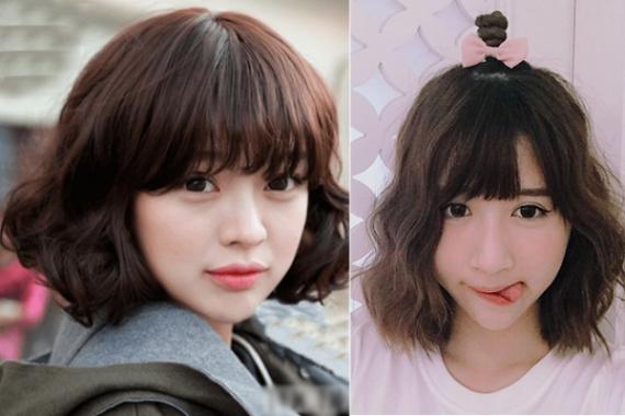 Những kiểu tóc nữ đẹp nhất - Mẫu 11