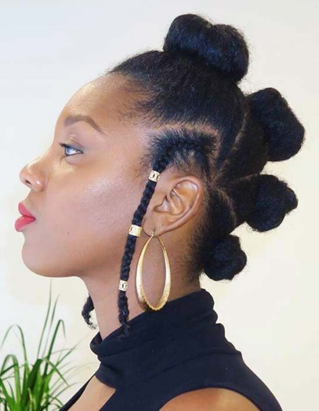 BANTU KNOTS Beautiful Natural Hairstyles Best
