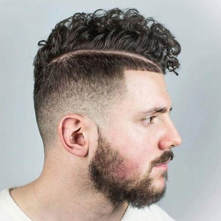 Long Taper Haircut Curly Hair 104