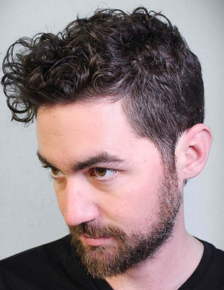 Best Curly Hairstyles + Haircuts For Men - H11