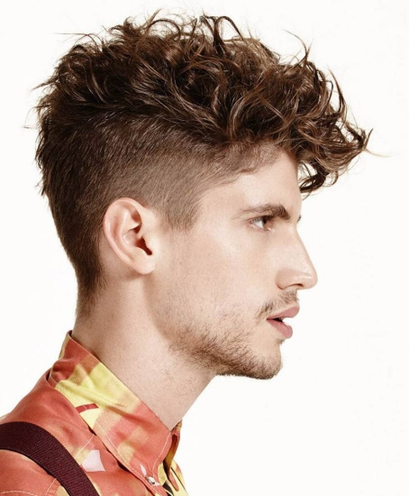 Best Curly Hairstyles + Haircuts For Men - H13