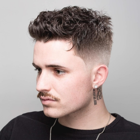Best Curly Hairstyles + Haircuts For Men - H18