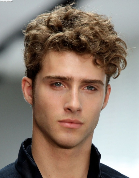 Best Curly Hairstyles + Haircuts For Men - H2
