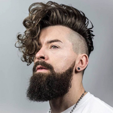 Best Curly Hairstyles + Haircuts For Men - H9