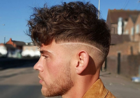 how to style curly hair for guys
