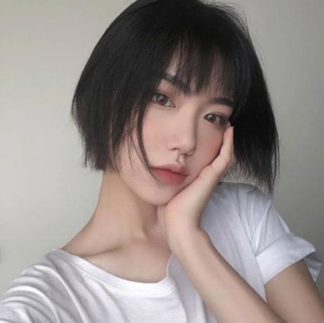 Thời trang tóc tém đẹp dành cho khuôn mặt dài - Hình 1
