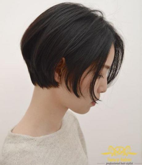Những kiểu tóc tém đẹp cho khuôn mặt to tròn - Hình 5