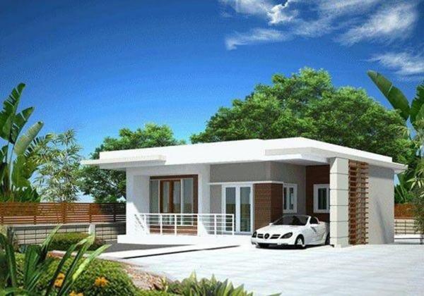 Thiết kế nhà cấp 4 mái bằng dưới 100 triệu - Hình 2