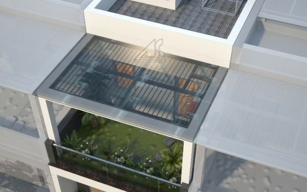 Thiết kế nhà ống 3 tầng 60m2 - hình 3