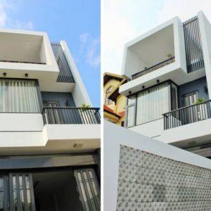 Thiết kế nhà phố đẹp diện tích 5x16m