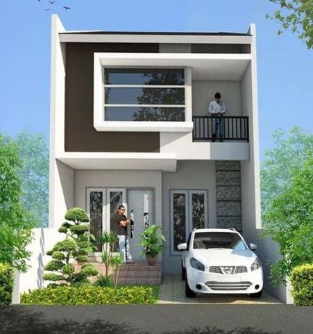 Những thiết kế nhà phố 2 tầng đẹp nhất hiện nay - Mẫu 3