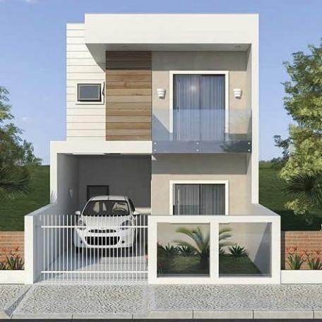 Những thiết kế nhà phố 2 tầng đẹp nhất hiện nay - Mẫu 5