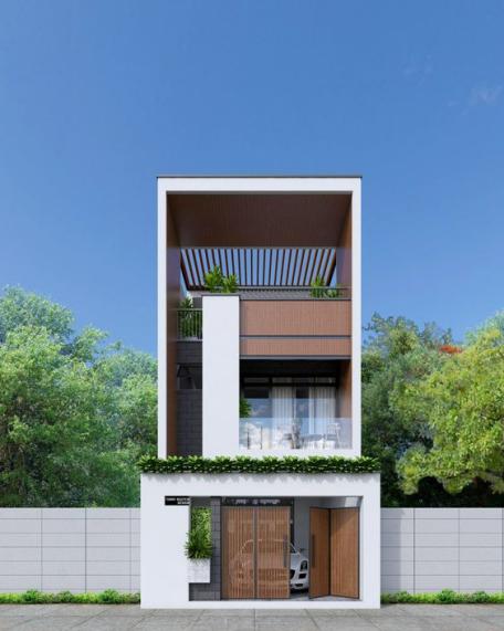 Tổng hợp 200 mẫu nhà phố 3 tầng đẹp nhất hiện nay - Hình 2