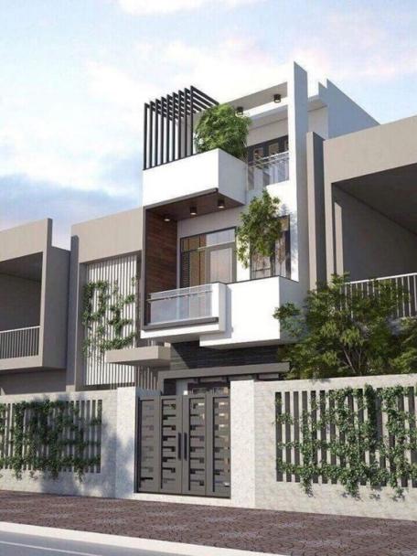 Tổng hợp 200 mẫu nhà phố 3 tầng đẹp nhất hiện nay - Hình 5