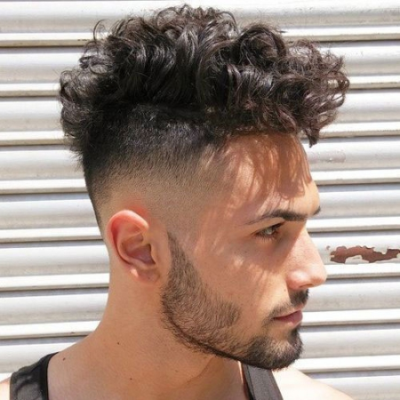 messy curly hairstyles for short hair