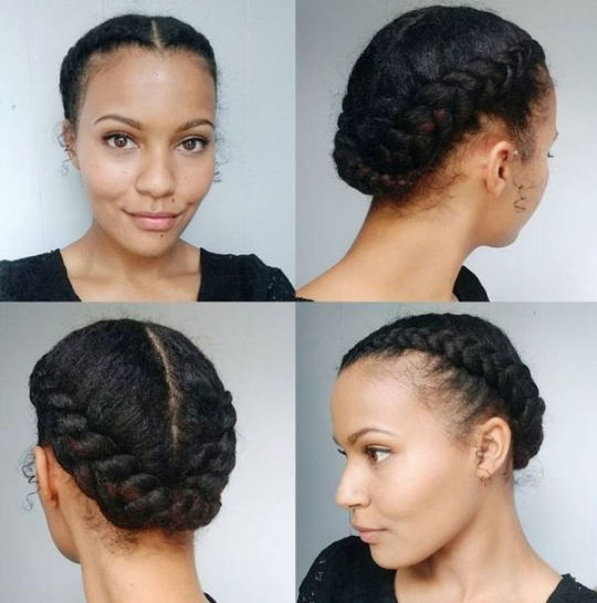 Natural hairstyles at home You Can Wear Anywhere