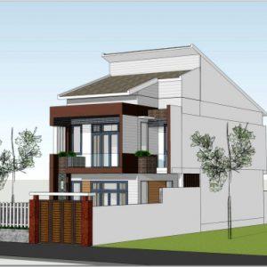 Dự án mẫu thiết kế nhà phố 7x18m