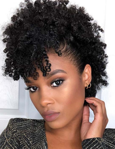 TRENDY, FAUX HAWK HAIRSTYLE Beautiful Natural Hairstyles Best
