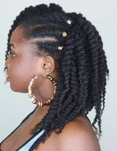 TWIST OUT HAIRSTYLE Beautiful Natural Hairstyles Best