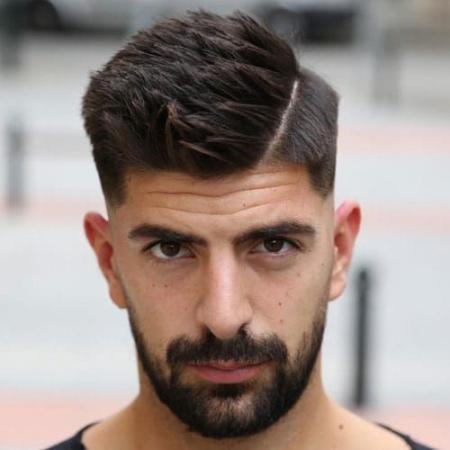 Undercut side part mens haircut - Images 2