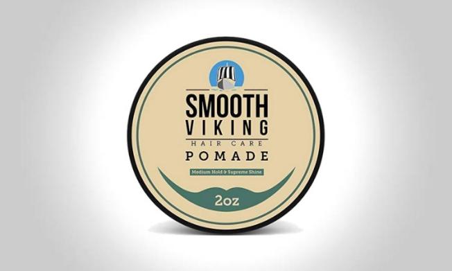 Smooth Viking Pomade Hair Wax For Men