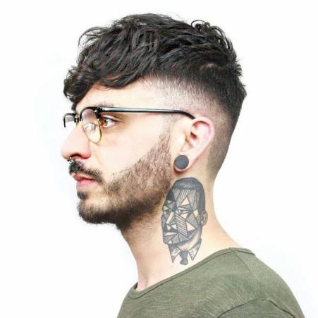 Undercut bob haircut with bangs - Images 1