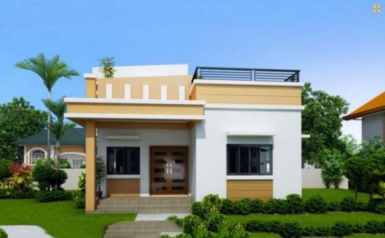 Thiết kế nhà cấp 4 giá rẻ dưới 100 triệu - Mẫu 2